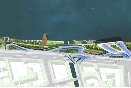 广州南沙新区明珠湾起步区二期景观规划设计