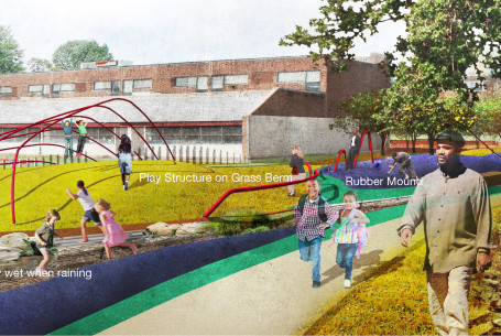 Embrace Past |Present | Future  – Play Space Design at Haverford Bright Future