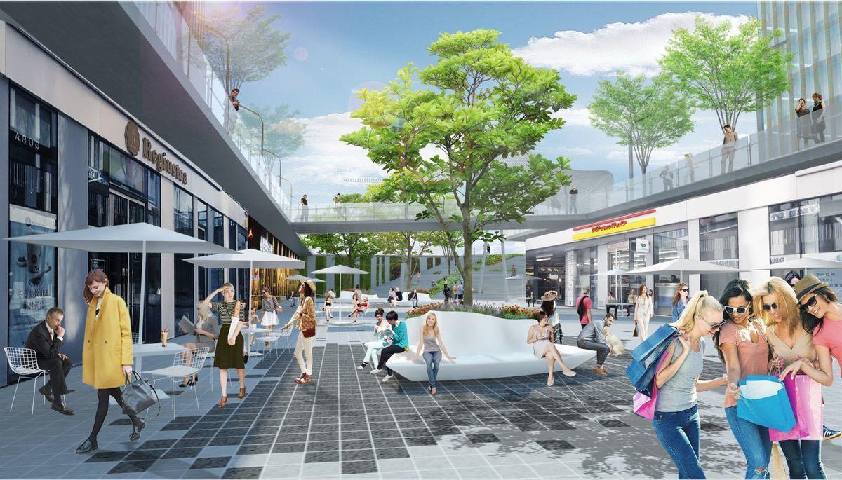 Landscape Design For Zhongguancun Avenue